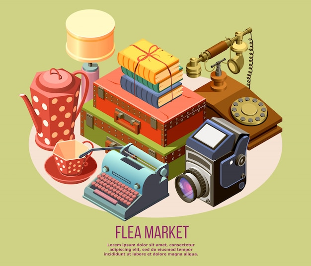 Flea market composition