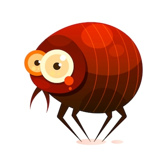 Fleas-pests, parasitic lifestyle