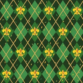 Fleur de lis background pattern