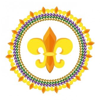 Флер де лис икона