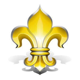 フルールドリス、フランスの王族のアンティークシンボル