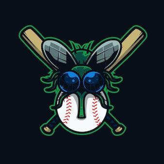 Flies baseball