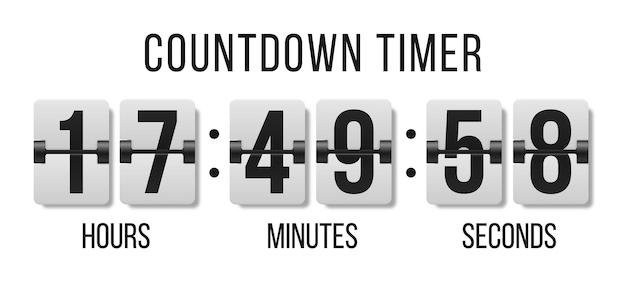 Переверните часы, показывающие, сколько времени часы минуты и секунды