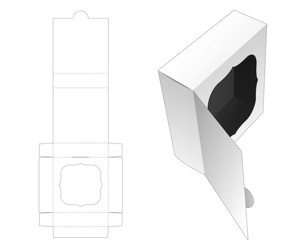 ウィンドウダイカットテンプレートを使用したフリップパッケージ