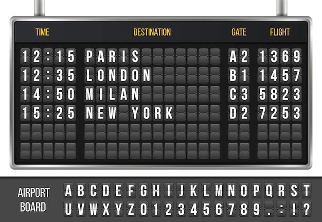 Flip scoreboard