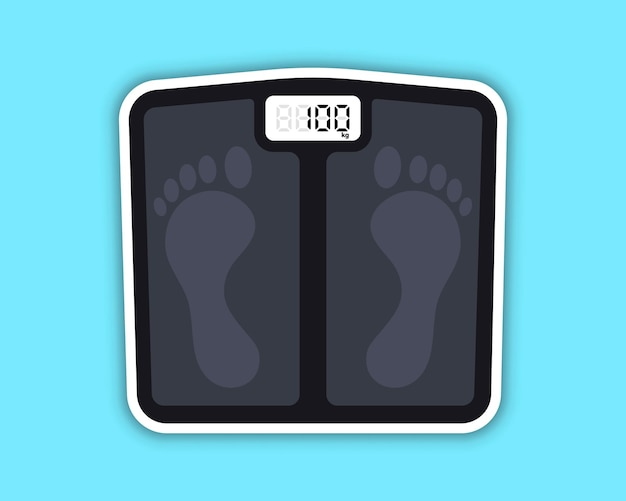 Floor scales floor scales for weighing body weight obesity after longterm quarantine
