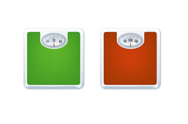 Floor weight scales