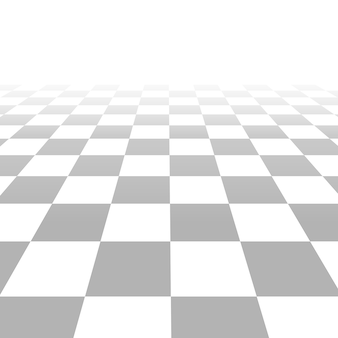 Floor with tiles, perspective grid vector background