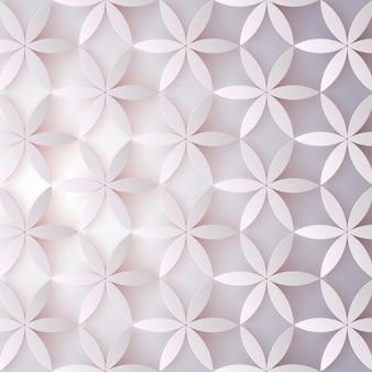 Floral 3d pattern