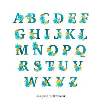 Floral alphabet