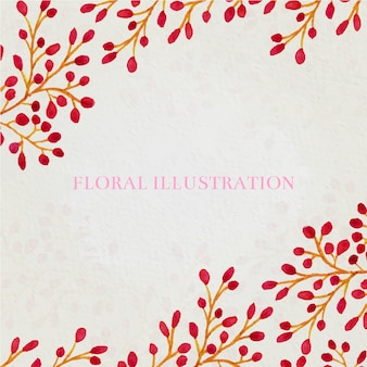 Floral background desig