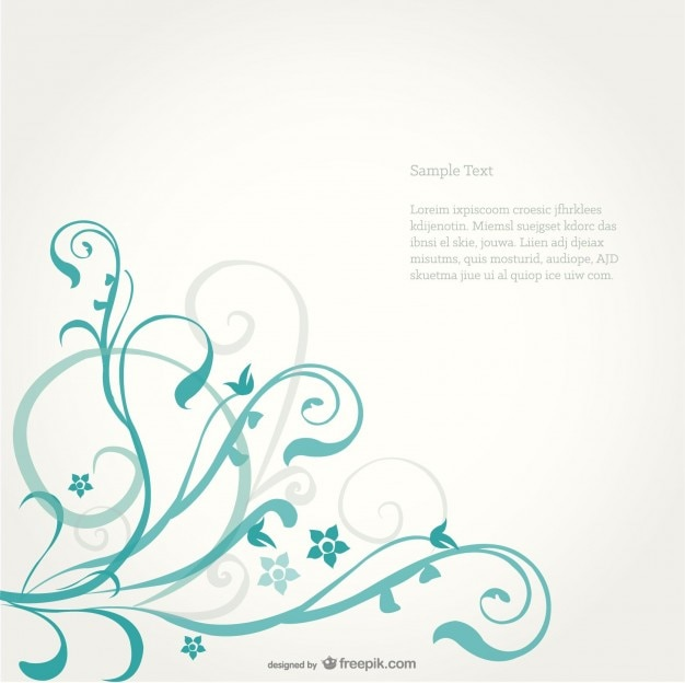 꽃 배경 디자인