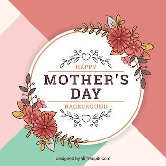Sfondo floreale per la festa della mamma felice