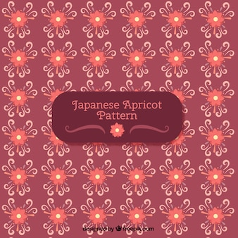 Floral background in japanese style