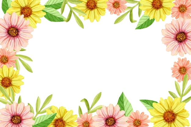 Floral background in pastel colors