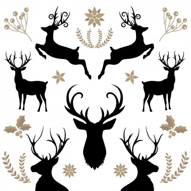 reindeer vectors photos and psd files free download rh freepik com reindeer vector art reindeer vector art