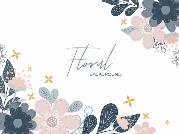 Floral background.