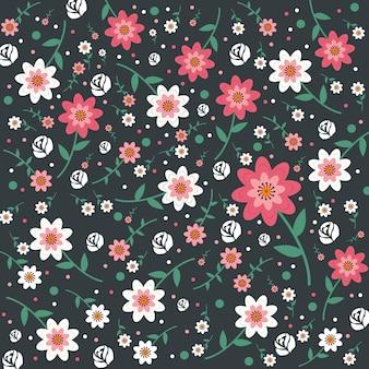 Floral   background Premium Vector