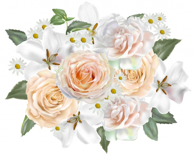 Floral beautiful bouquet