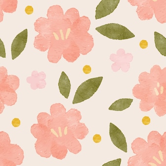 Floral boho shape modern organic seamless pattern backgraound