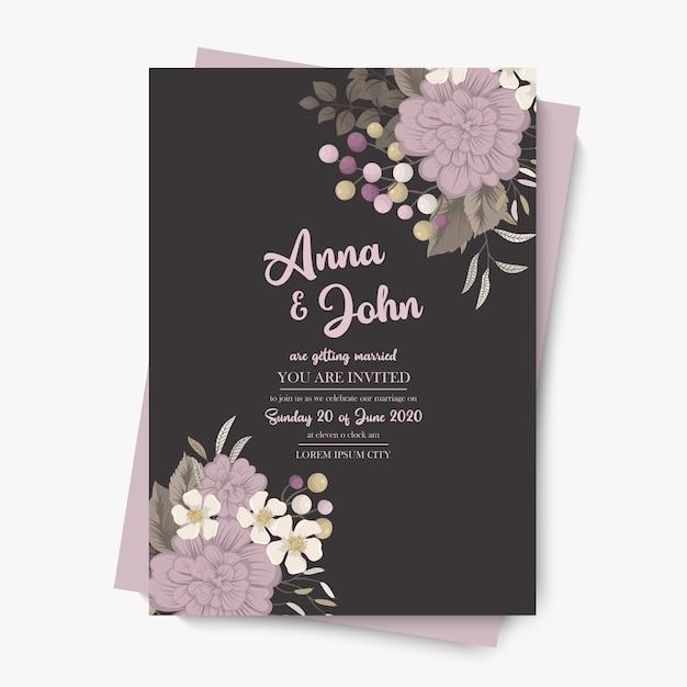 꽃 테두리 배경-핑크 꽃 테두리