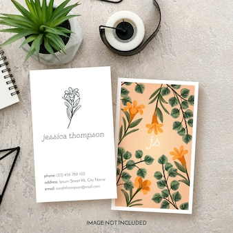 Floral business floral business card