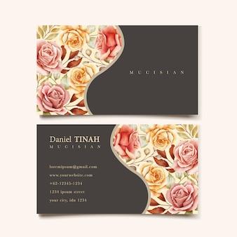 Floral businesscard