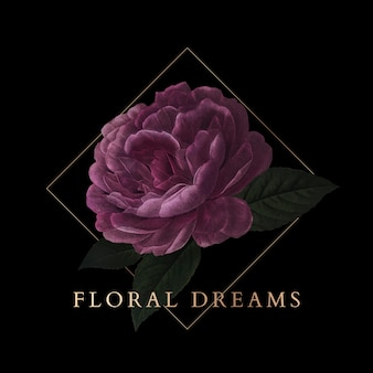 Floral dreams badge