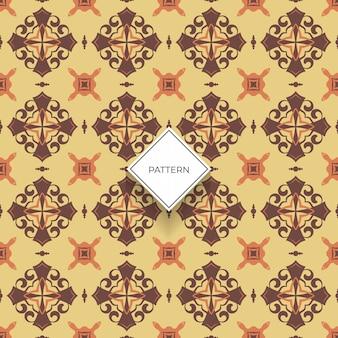 花の床タイルパターン