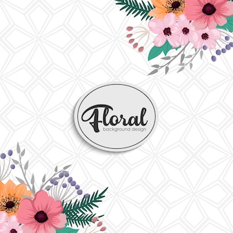 Floral frame for your text.