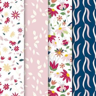 Floral garden pattern collection
