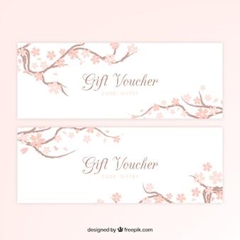 Floral gift voucher