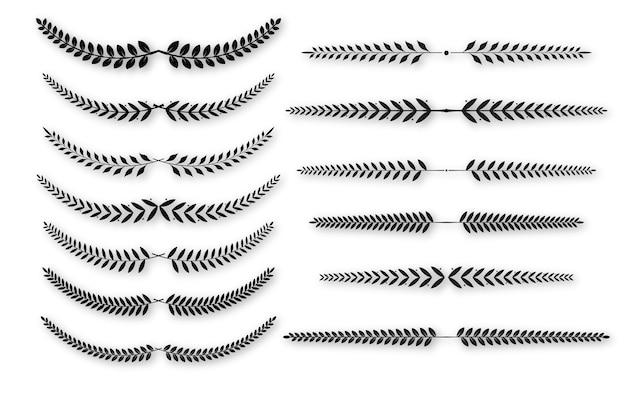 꽃 그래픽 요소를 설정합니다.