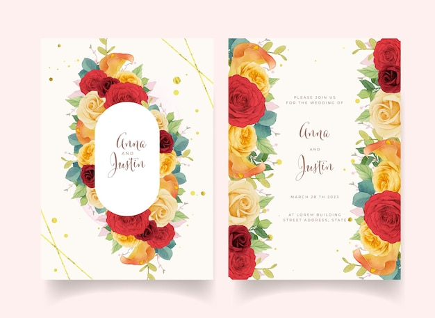 꽃 초대장