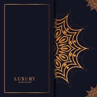 Floral luxury background design   arabic islamic   style
