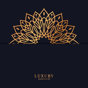 Floral luxury background design