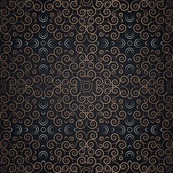 Floral luxury seamless pattern