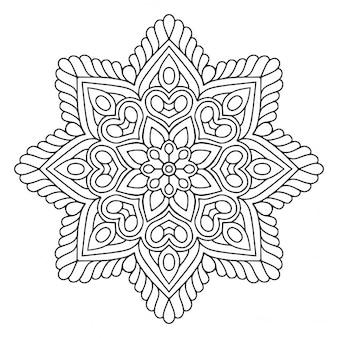 꽃 만다라, 흑인과 백인