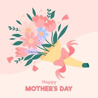 花の母の日のイラスト