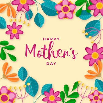 Floral mother's day wallpaper
