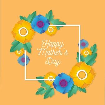 花の母の日デザイン