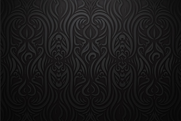 Floral ornamental abstract background