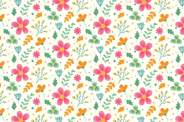 Floral pattern collection concept