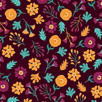 꽃 패턴 개념