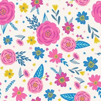 Floral pattern concept