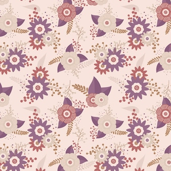 Floral pattern cute design