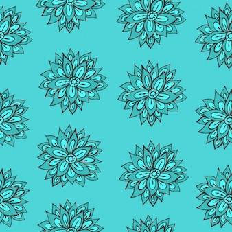 花柄のデザイン