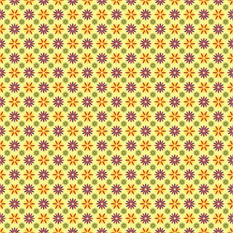 플로랄 패턴 디자인