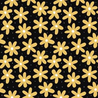 Floral pattern of spring
