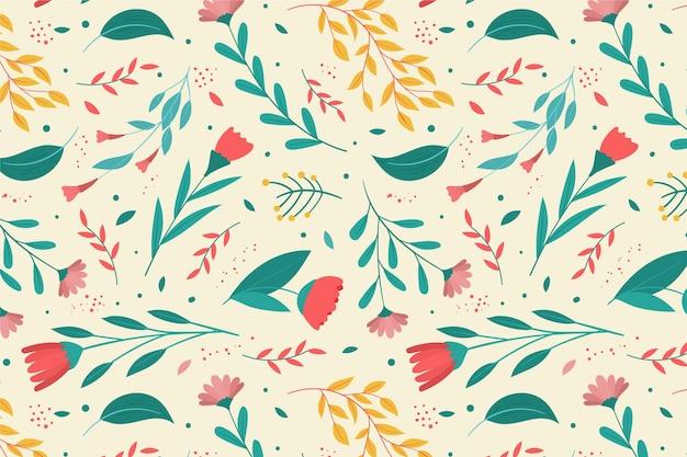 꽃 패턴 테마